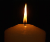candle flame photo